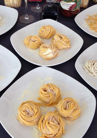 Pasta made fresh on the premises