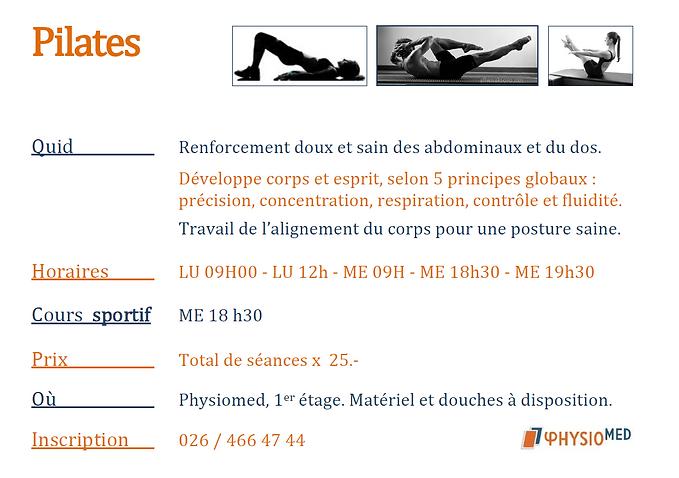Cour de Pilates
