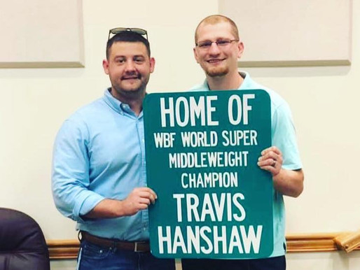 Boyd County Fiscal Court Honors Travis Hanshaw