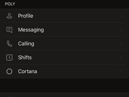 Cortana en Microsoft Teams Mobile