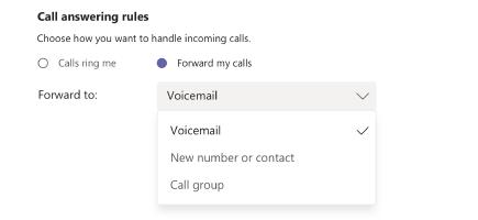 #MSTeams para usuarios: Call forwaring, Call groups y simultaneous ring