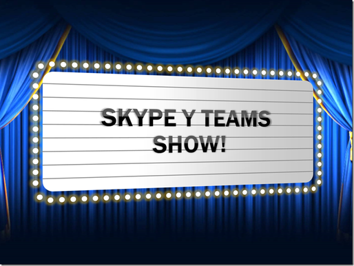 Skype y Teams Show!–Podcast Quincenal