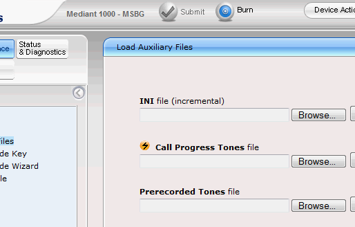 Audiocodes FXO – Does not release call