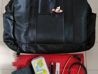 訪問看護師7つ道具 その③&④ バッグ&バイタルセット