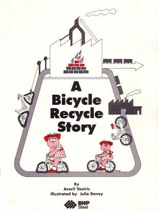 Bicycle recycle book.JPG