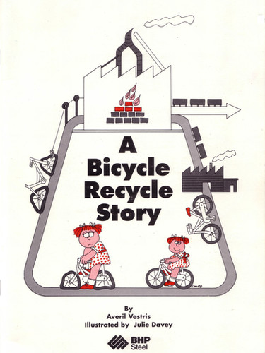 Bicycle recycle book.JPG