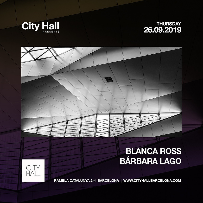 City Hall pres. Blanca Ross & Bárbara Lago