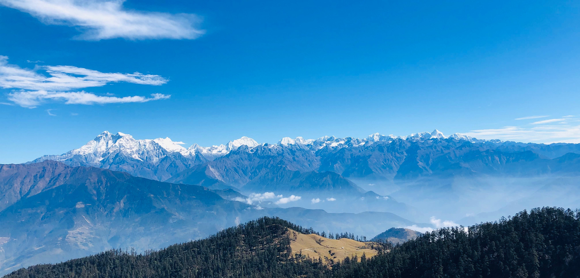 View From  Kalinchowk