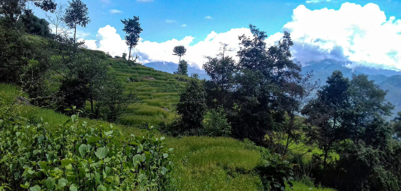 On the way to Dolakha