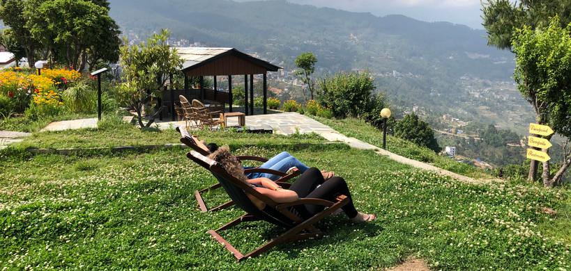 View of Charikot Panorama Resort