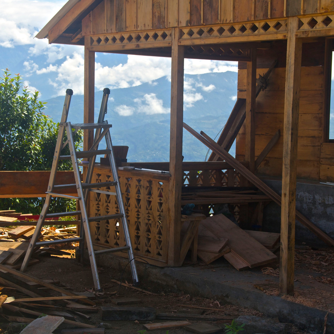 New chalet building