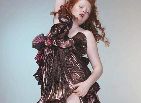 'A beautiful thing is never perfect' - modell Tess Mcmillan - En skjønnhet i 'vekst'