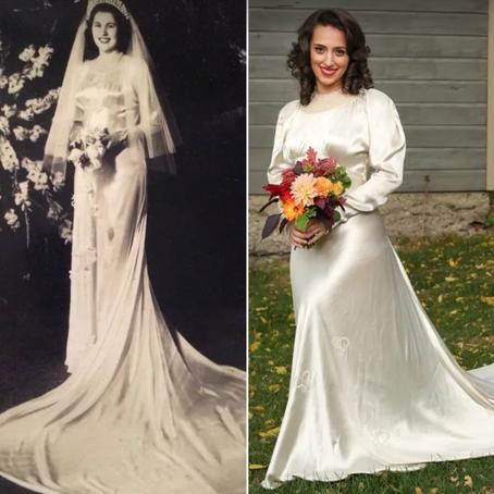 Disse tidløse kjolene har blitt gitt gjennom generasjoner
