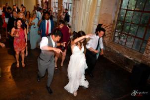 En amerikansk hiphop bryllup