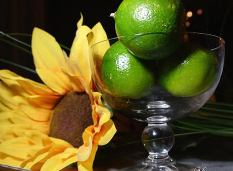 Sommerbryllup – Bruk av frukt til dekorasjon