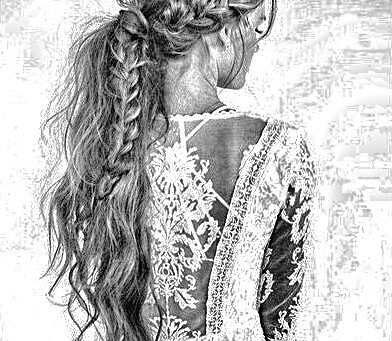 Brudekjole og hårfrisyretrend til bruder