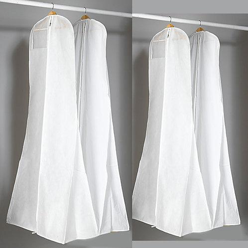 Klespose med ekstra lengde og ekstra dype til kjoler med slør