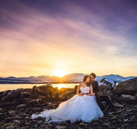Norsk natur – Fotografere bryllupsbilder med vakker natur som bakgrunn