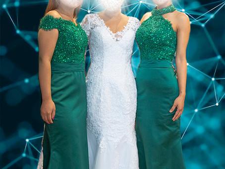 Tema - Miljøgrønnt- Skreddersydd brudekjole og skreddersydde forloverkjoler