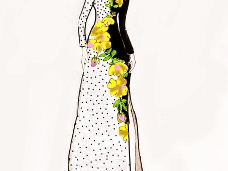 Skreddersydd en elegant ballkjole