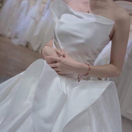 Den fineste brudekjolen