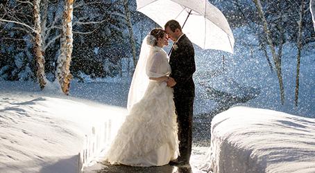 Hva slags brudekjoler passer til vinterbruder