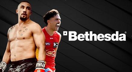 Bethesda ANZ adds budding AFL player Izak Rankine to brand ambassadorship star line-up