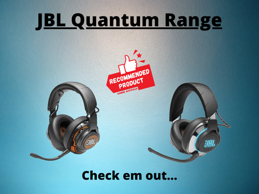 JBL, the overlooked heavy hitter of gaming audio.