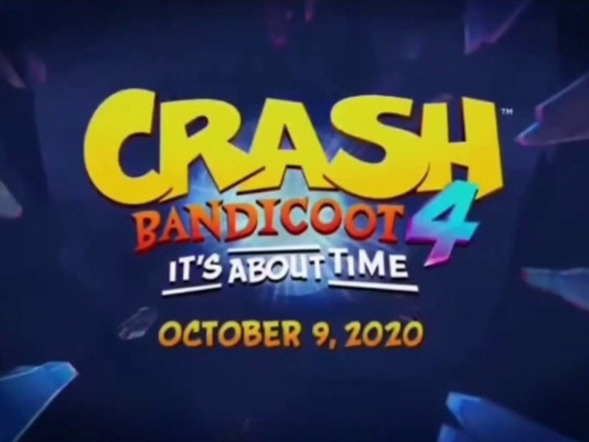 Crash Bandicoot 4 - It's about time release date and screenshots leaked