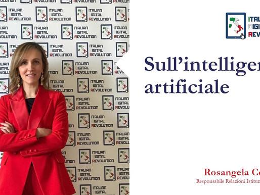 Sull'intelligenza artificiale di Rosangela Cesareo, Responsabile Relazioni Istituzionali AIDR