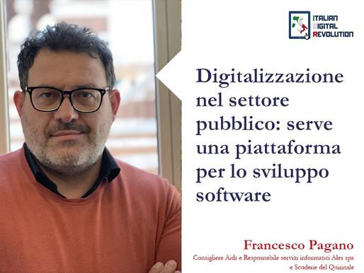 Digitalizzazione nel settore pubblico: serve una piattaforma per lo sviluppo software