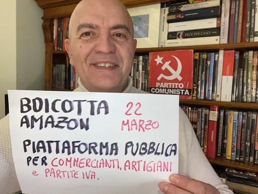Rizzo: Appoggiamo sciopero dei lavoratori Amazon