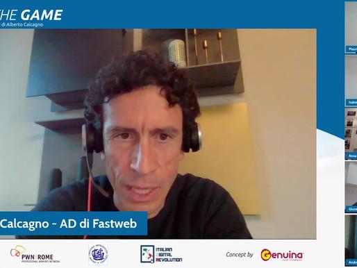 Calcagno (Fastweb): fare rete tra aziende e associazioni per  promuovere l'alfabetizzazione digitale