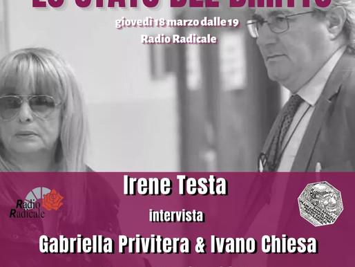 Lo stato del Diritto: Gabriella Privitera e Ivano Chiesa, madre e avvocato di Fabrizio Corona