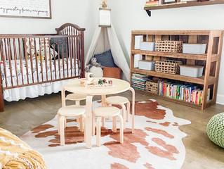 Boho Toddler Nursey