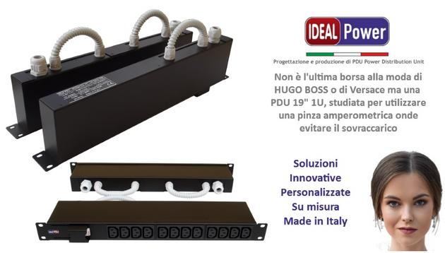 """Non è l'ultima borsa alla moda di Hugo Boss o di Versace ma ... una PDU 19"""""""