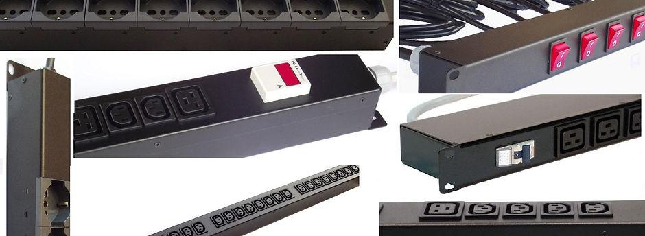 PDU, power disribution unit, Multiprese armadi rack, datacenter