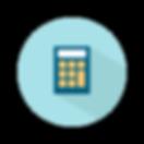 miniräknare symbol finansieringsrådgivning