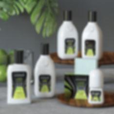 thalia lime sets packaging design