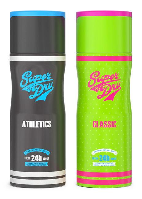 superdry deodorant ambalaj tasarimi