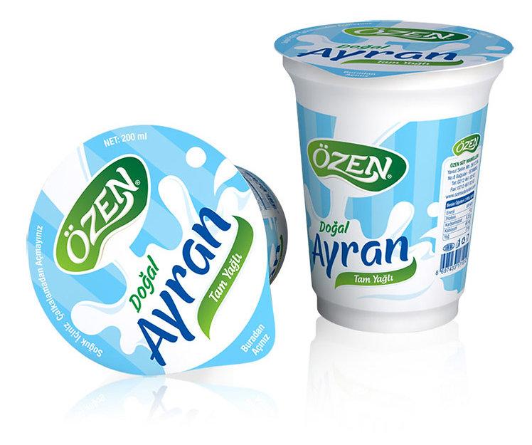 ozen buttermilk packaging design