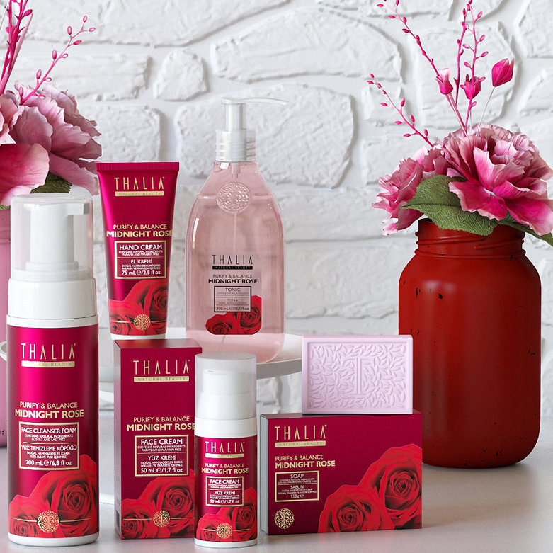 thalia rose sets packaging design