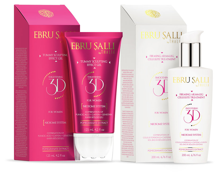 ebru salli sculpting gel packaging design