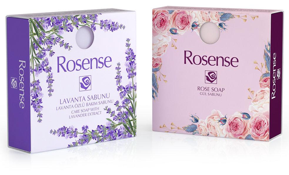 rosense sabun ambalaj tasarimi