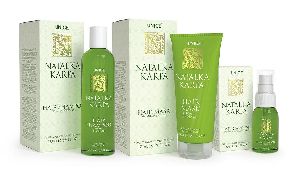 natalka karpa care sets packaging design