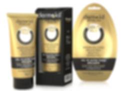 dermokil gold mask packaging design