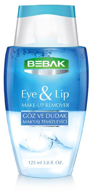 bebak make-up remover packaging design