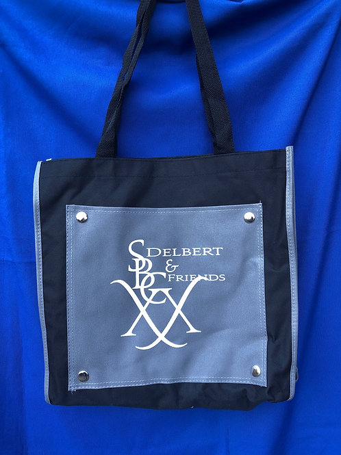 SBC 20 Collector's Tote - Gray and Black