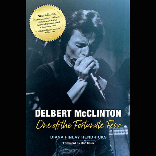 Paperback: Delbert McClinton One of the Fortunate Few (2021)