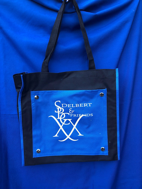 SBC 20 Collector's Tote - Blue and Black